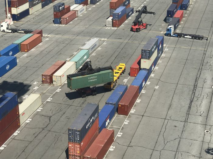 Containerlager Dünkirchen