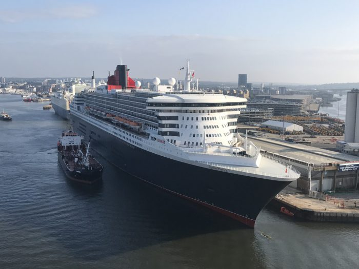 Queen Mary II in Southampton